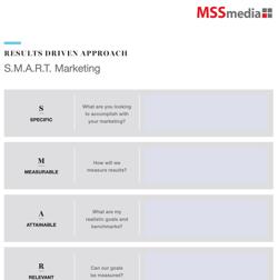 Worksheet Thumbnail - SMART Marketing Goals