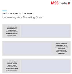 Worksheet Thumbnail - Uncovering Marketing Goals